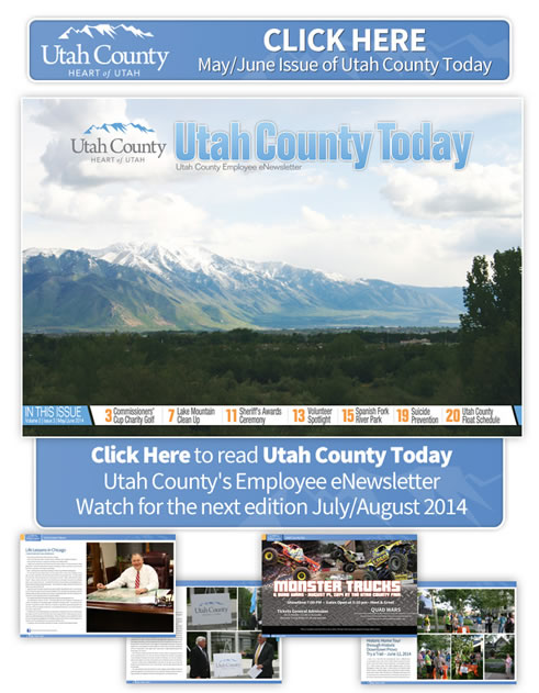 Utah County Today eNewsletter for May/June 2014